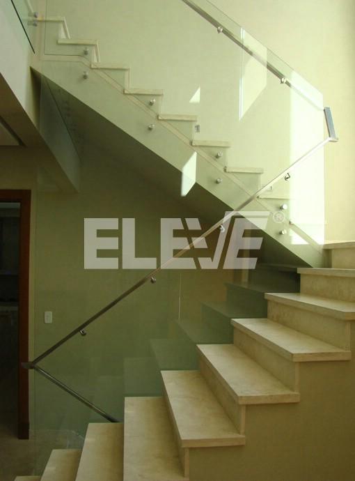 Tabique baranda de vidrio templado - Escaleras con barandilla de cristal ...