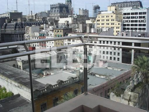 Baranda de terraza en acero inoxidable con vidrio laminado for Barandas para terrazas