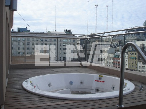 Baranda para terrazas en vidrio laminado con estructura de acero inoxidable - Barandas de terrazas ...