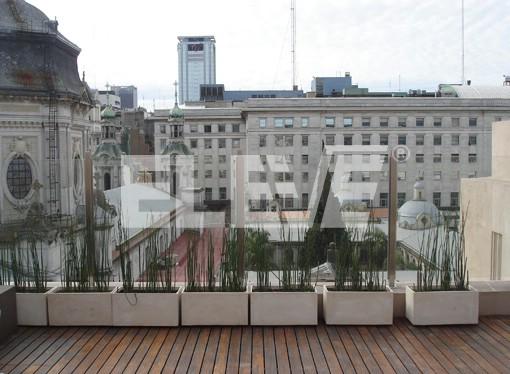 Baranda de protecci n para terraza de vidrio laminado y - Barandas de terrazas ...