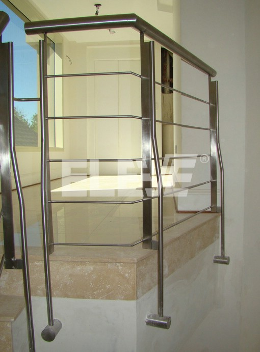 Barandas de acero inoxidable eleve escaleras y barandas - Barandas acero inoxidable ...