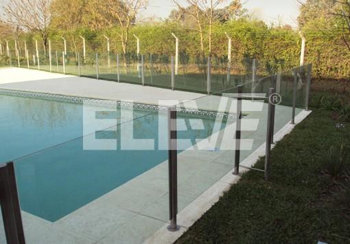 Protecci n infantil para piscinas en acero inoxidable y vidrio laminado - Piscinas de acero inoxidable ...
