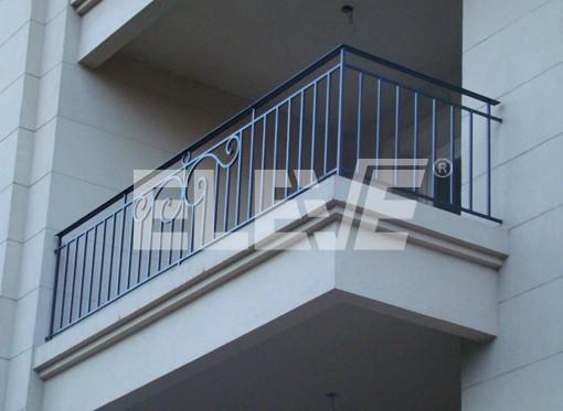 Baranda vidrio hierro para balcones car interior design - Barandas de hierro modernas ...