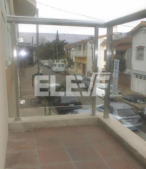 Baranda para balcones en acero inoxidable exteriores vidrio templado - Barandillas para terrazas exteriores ...