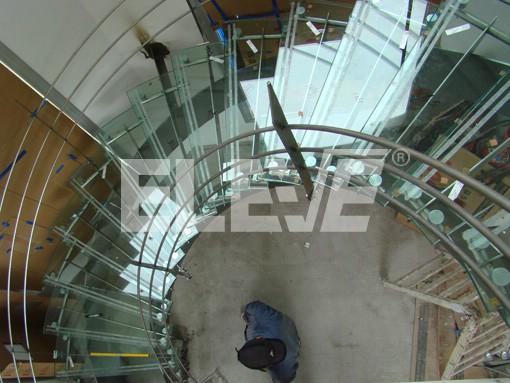 dise o de escalera helicoidal instalada en bah a blanca