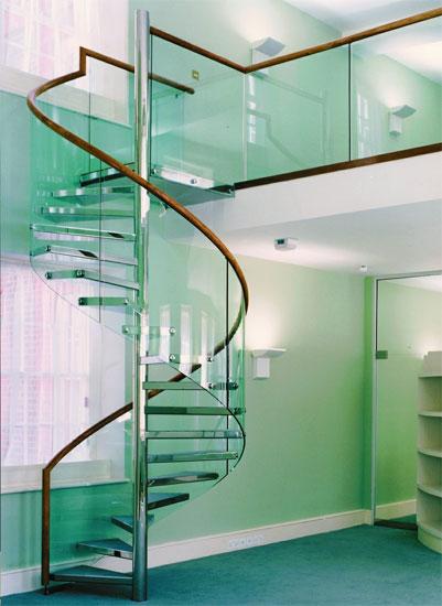 Dise os innovadores de escaleras y barandas - Escalera de diseno ...