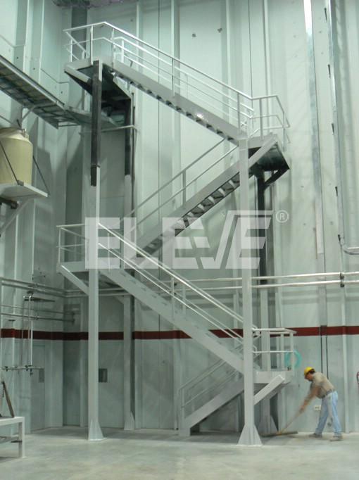 escalera metal