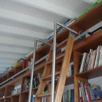 Escaleras desplazables o corredizas para bibliotecas o - Escalera de biblioteca ...
