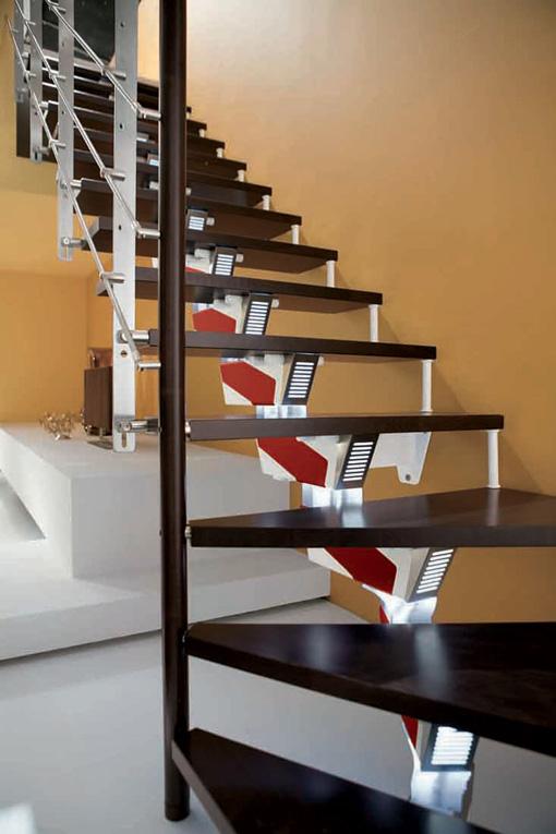 Escaleras rintal l nea knock design distribuida por eleve - Fotos en escaleras ...