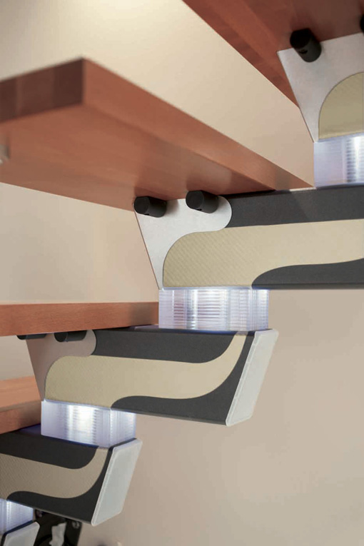 Escaleras rintal l nea knock design distribuye eleve for Escaleras rintal