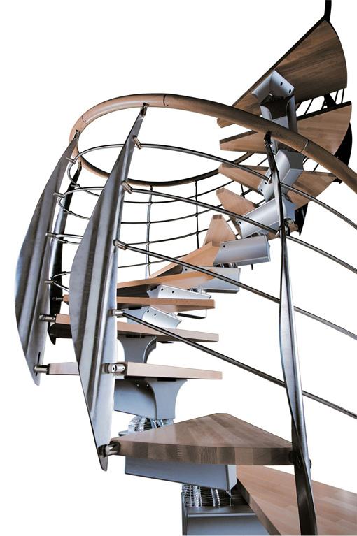 Escaleras marca rintal modelo spiral prima distribuidas for Escaleras rintal