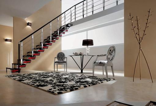 Escalera rintal l nea knock design distribuida en for Escaleras rintal