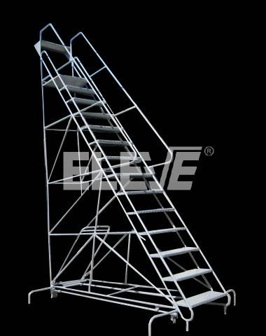 Escaleras desplazables de almac n acceso a grandes alturas - Escaleras para almacen ...