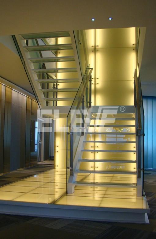 escalera en u fabricada para edificio el ypf dise o en