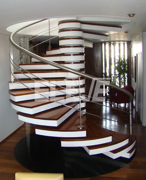 Escalera caracol de dise o - Escaleras de caracol minimalistas ...