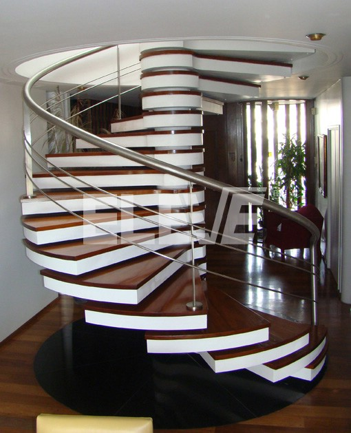 Escalera caracol de dise o - Escaleras de caracol metalicas ...