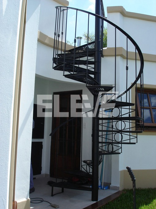 Escalera caracol est tica - Escaleras de caracol metalicas ...