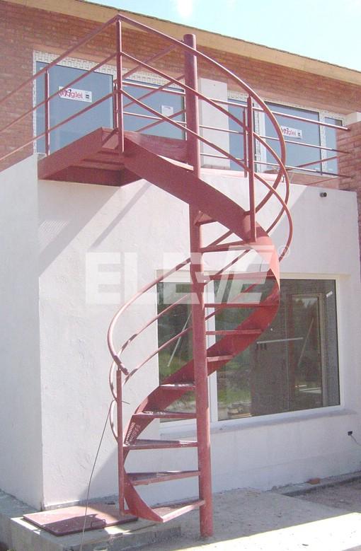 Escalera caracol con cinta helicoidal de hierro - Imagenes de escaleras de caracol ...