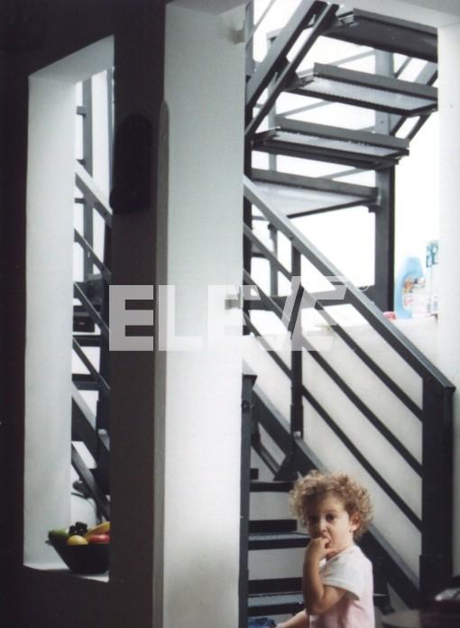 escalera tipo u con plataforma intermedia escaleras forma u