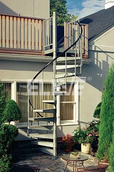 Escaleras de caracol para exterior perfect escaleras de - Escalera de caracol exterior ...