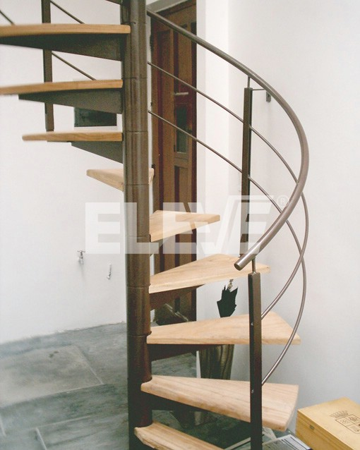 Escaleras circulares