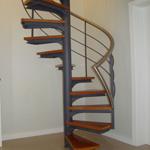 Escaleras caracol modulares en kit prefabricadas for Escalera piscina bricodepot