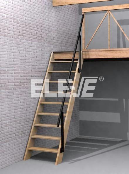 Escaleras entrepisos y barandas en madera - Como hacer un altillo de madera ...