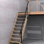 Escaleras marineras para poco espacio fijas techo for Como hacer una escalera para un entrepiso