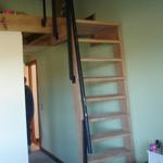 Escaleras marineras para poco espacio fijas techo - Escaleras para altillos plegables ...
