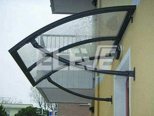 Alero marquesina curvo protecci n para puerta de entrada - Puertas de entrada leroy merlin ...