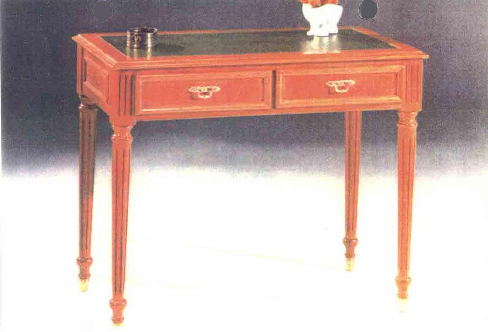 muebles de estilo en madera cerejeira cristalero mesa y