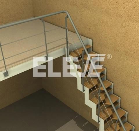Escaleras para entrepisos