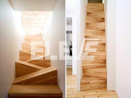 Escalera de dise o innovador escalera original de pasos - Escalera japonesa ...