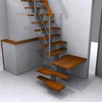 Escaleras De Pasos Alternados En Kit Pie Derecho