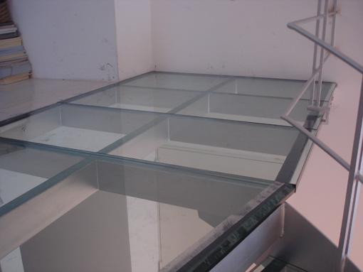 Suelo de vidrio pisable simple with suelo de vidrio - Suelos de cristal ...