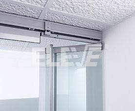 Puerta de vidrio de abrir sistema de puertas corredizas for Sistema para puertas corredizas