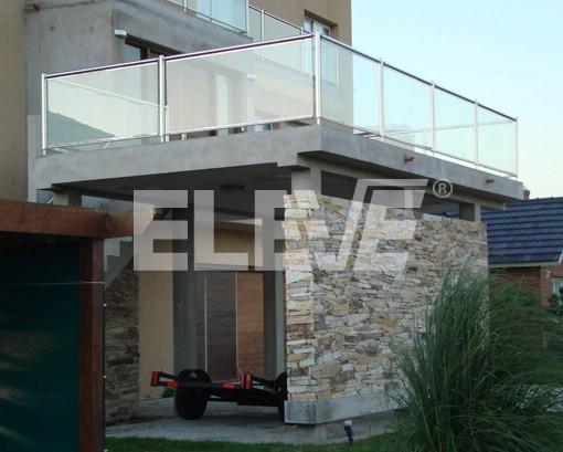 Vidrios para balcones awesome cortinas de vidrio para for Barandas para terrazas