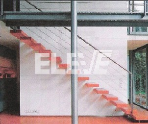 escaleras barandas y puente entrepiso estructura en hierro diseo integrado ue